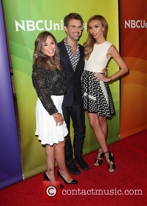 Melissa Rivers, Brad Goreski and Giuliana Rancic 2