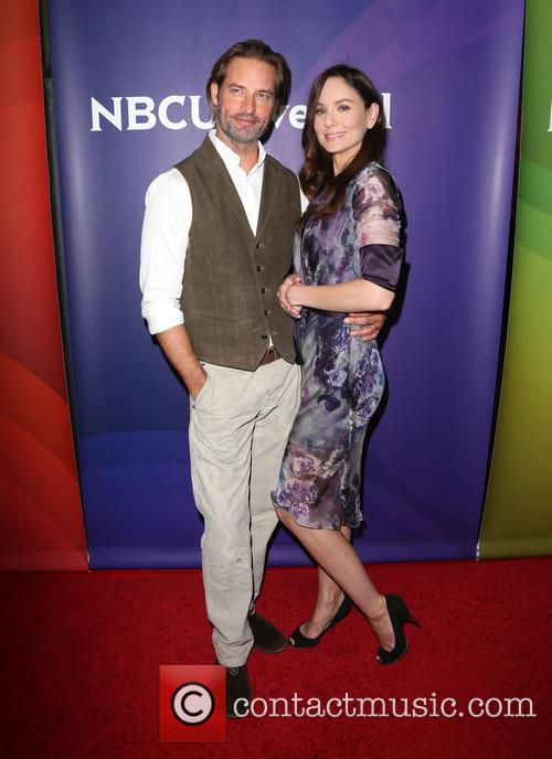 Josh Holloway and Sarah Wayne Callies