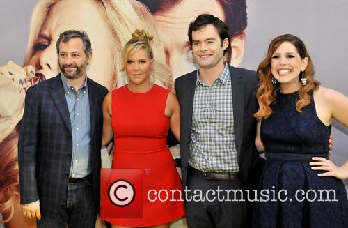 Judd Apatow, Amy Schumer, Bill Hader and Venessa Bayer 1