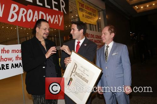 Penn Jillette, Ben Kallos and Teller 4