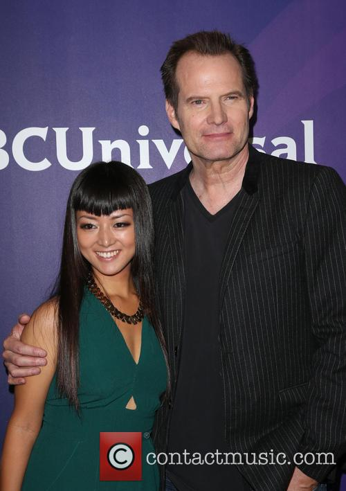 Kiki Sukezane and Jack Coleman