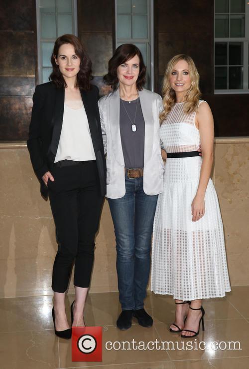 Michelle Dockery, Elizabeth Mcgovern and Joanne Froggart 1