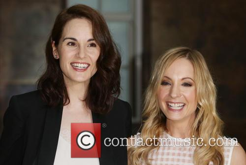 Michelle Dockery and Joanne Froggart 1