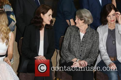 Michelle Dockery and Dame Maggie Smith 2