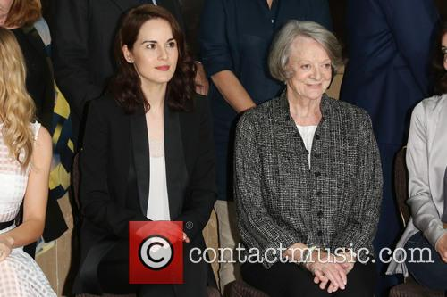 Michelle Dockery and Dame Maggie Smith 1