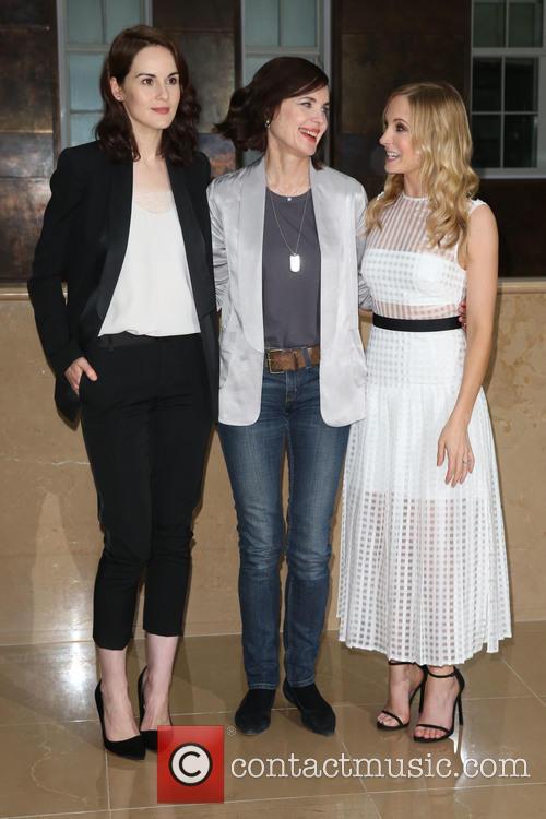 Michelle Dockery, Elizabeth Mcgovern and Joanne Froggatt 2