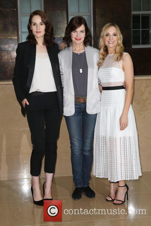 Michelle Dockery, Elizabeth Mcgovern and Joanne Froggatt 3