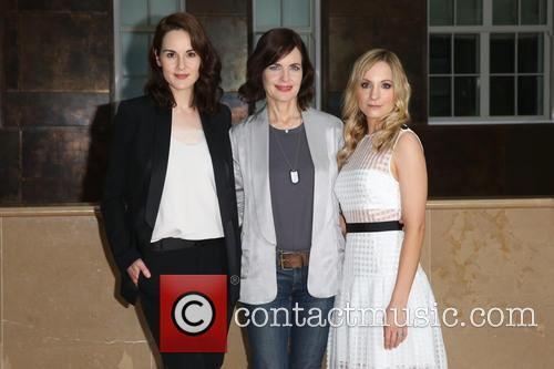 Michelle Dockery, Elizabeth Mcgovern and Joanne Froggatt 4