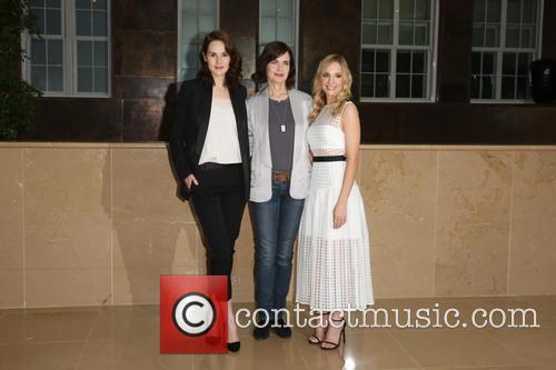 Michelle Dockery, Elizabeth Mcgovern and Joanne Froggatt 1