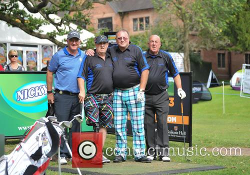 Halliwell, Peter Baker, Roger Hurcombe, Steve Kitt and The Social Golfer 3