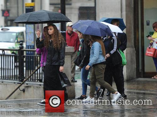 Heavy rain hits London