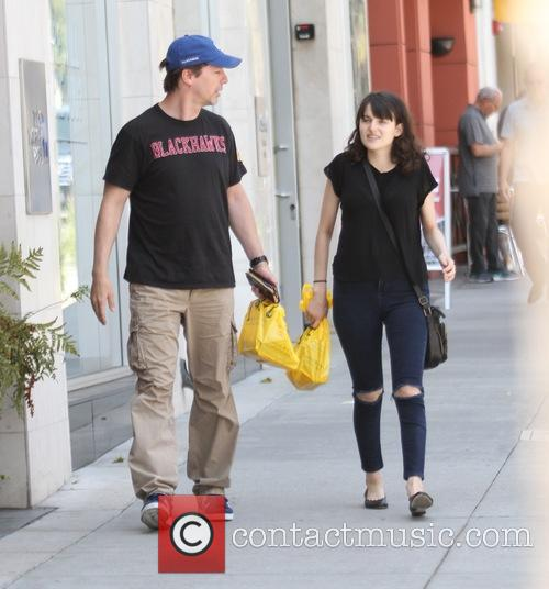 Sean Hayes goes shopping in Beverly Hills