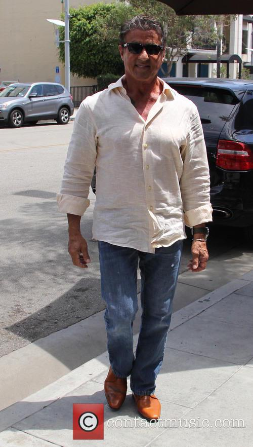 Sylvester Stallone out and about in Beverly Hills