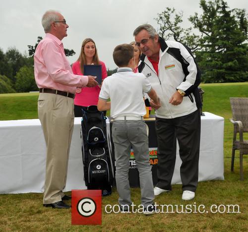 Eric Herd, Jack Drury and Tony Jacklin Cbe 2