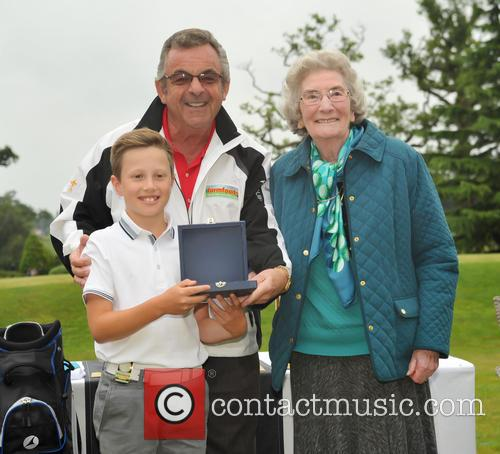 Mrs Herd, Jack Drury and Tony Jacklin Cbe 1