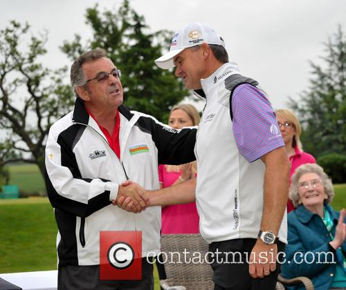 Tony Jacklin Cbe and Paul Lawrie 1
