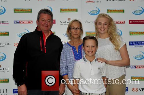 Mr & Mrs Drury, Sue Cressman and Jack Drury (amateur Winner) 1