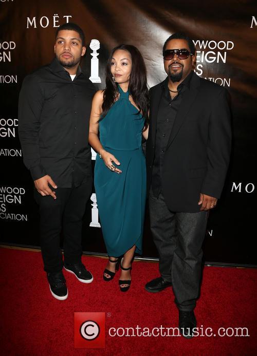 O'shea Jackson Jr., Kimberly Woodruff and Ice Cube 2