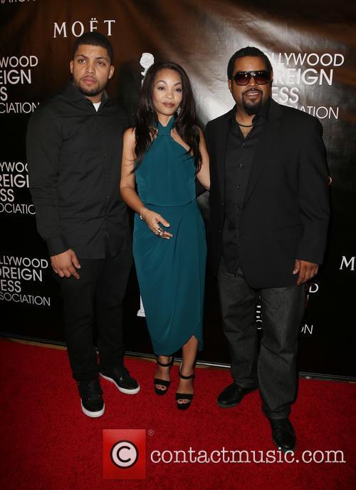 O'shea Jackson Jr., Kimberly Woodruff and Ice Cube 1