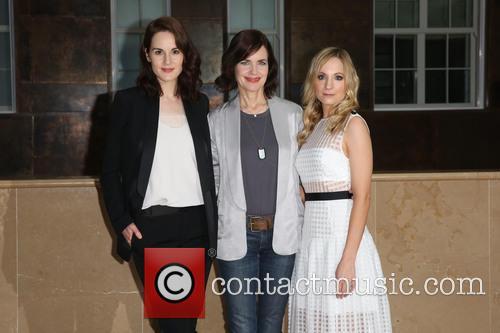 Michelle Dockery, Elizabeth Mcgovern and Joanne Froggart 2