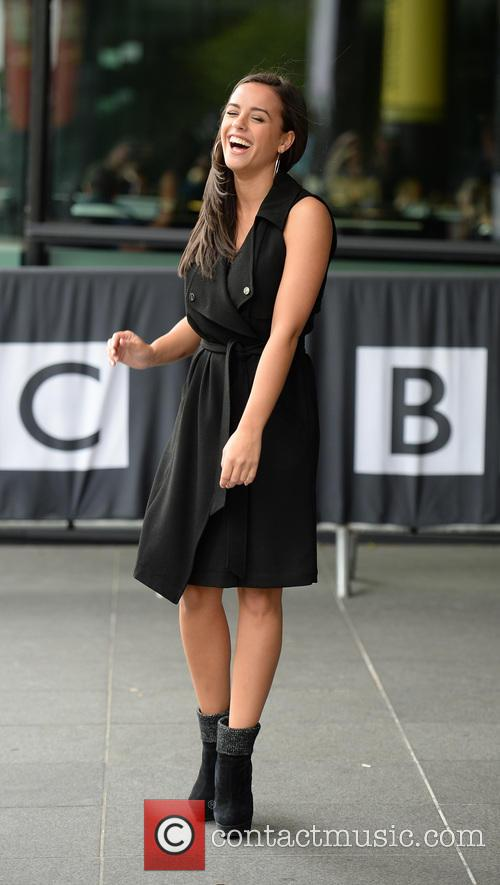 Georgia May Foote leaving the BBC Breakfast studios
