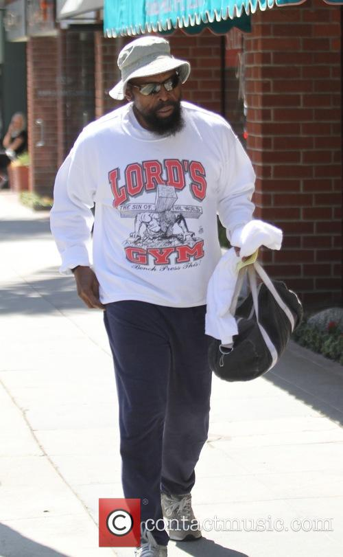 Mr. T out and about in Beverly Hills