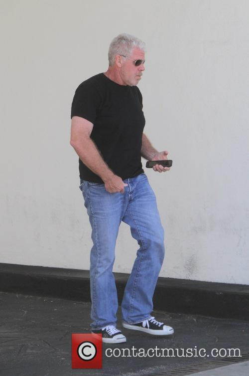 Ron Perlman spotted out to lunch