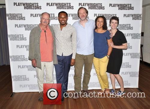 Philip Kerr, Larry Powell, Andrew Garman, Linda Powell and Emily Donahoe 2