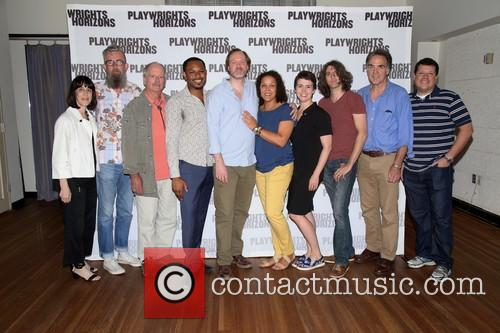 Leslie Marcus, Les Waters, Philip Kerr, Larry Powell, Andrew Garman, Linda Powell, Emily Donahoe, Lucas Hnath and Tim Sanford 1
