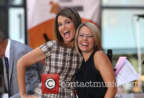 Savannah Guthrie and Katie Couric 1