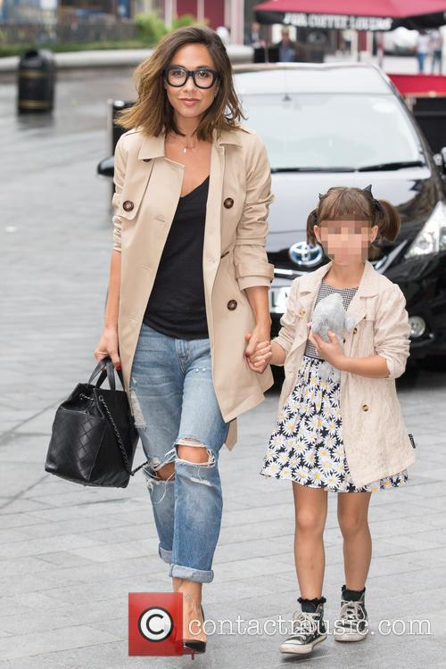 Myleene Klass and Ava Bailey Quinn 6