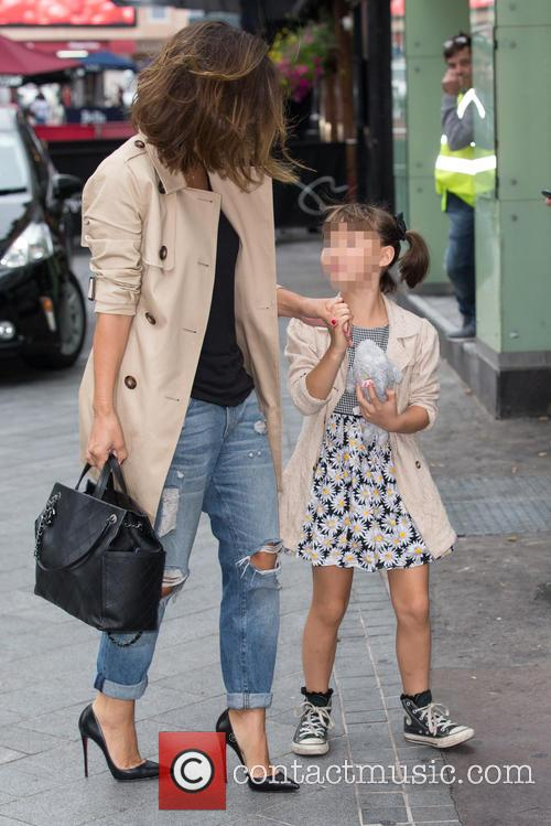 Myleene Klass and Ava Bailey Quinn 9