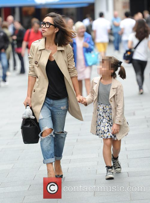 Myleene Klass and Ava Bailey Quinn 5