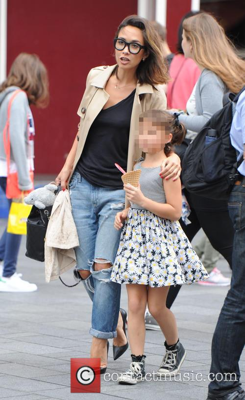 Myleene Klass and Ava Bailey Quinn 7
