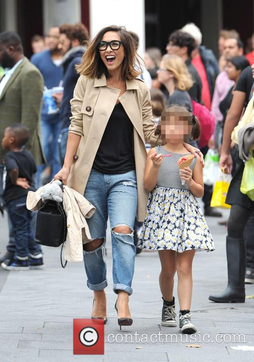 Myleene Klass and Ava Bailey Quinn 8