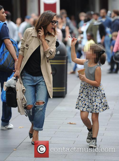 Myleene Klass and Ava Bailey Quinn 11