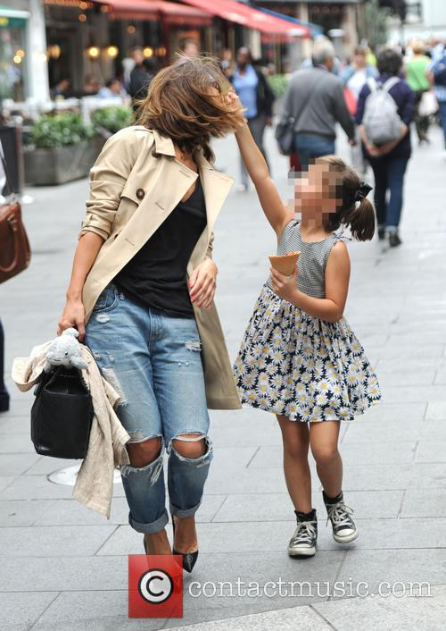 Myleene Klass and Ava Bailey Quinn 1