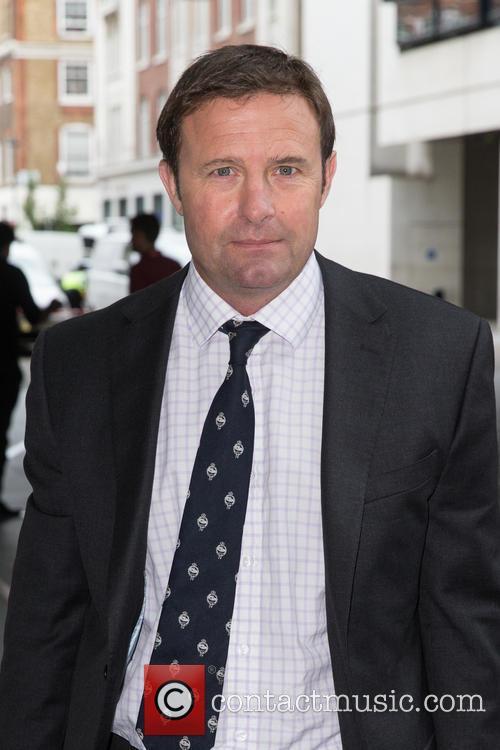 Hamish de Bretton-Gordon OBE at the BBC News...