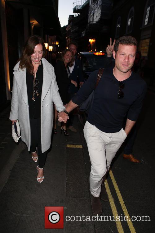 Dermot O'leary and Dee Koppang 1