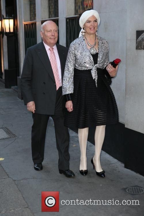 Julian Fellowes and Emma Joy Kitchener 4
