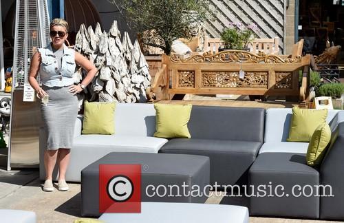 Interesting Garden Furniture Kerry Katona Attends The Centre