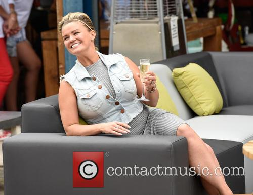 Kerry Katona attends The Garden Furniture Centre showroom...