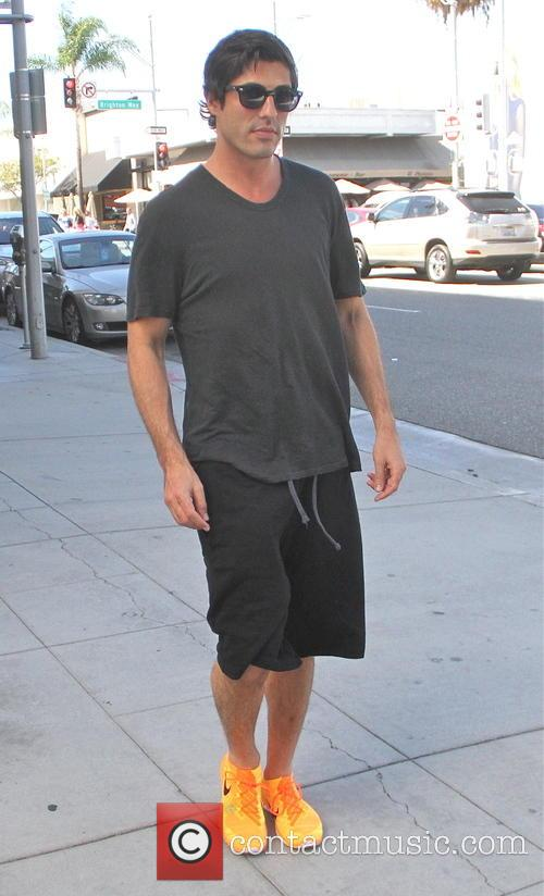 Brandon Davis out and about in Beverly Hills