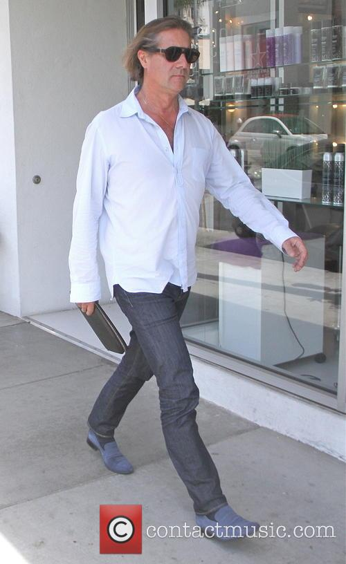 John Larroquette goes shopping in Beverly Hills