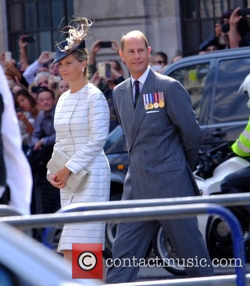 Prince Edward, Sophie and Countess Of Wessex 1