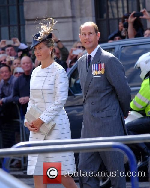 Prince Edward and Sophie Countess Of Wessex 1