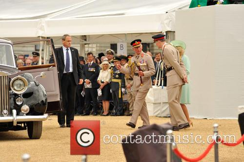 Camilla Duchess Of Cornwall and Andrew Prince Of Wales 6