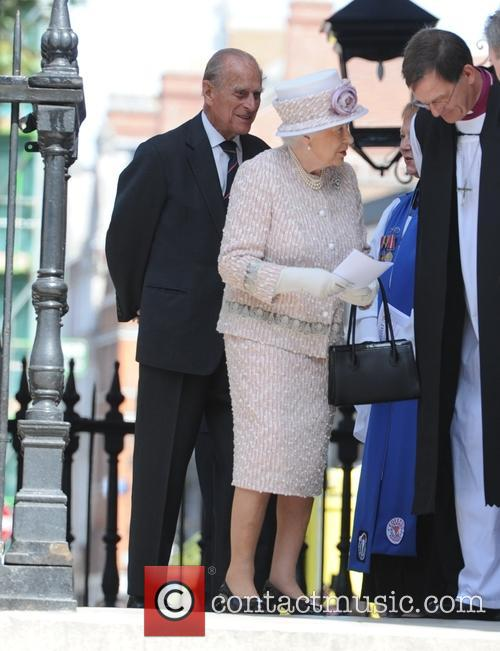 The Queen and The Duke Of Edinburgh 2
