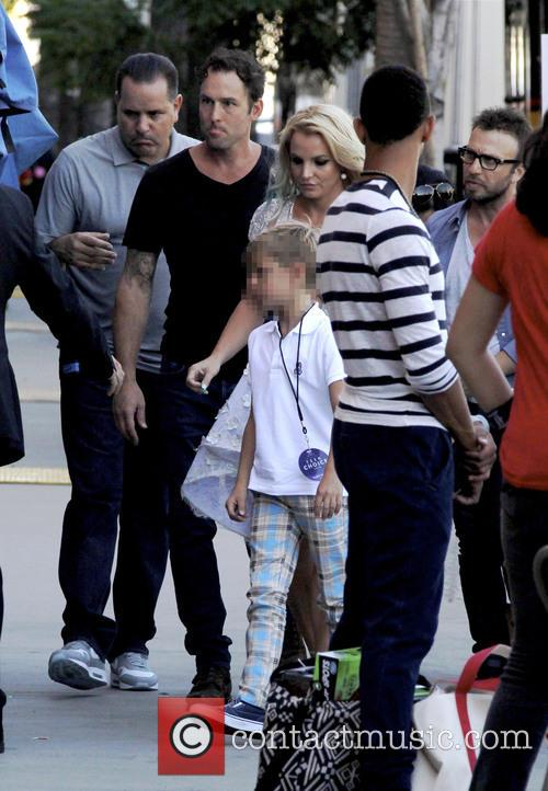 Sean Preston and Britney Spears 2