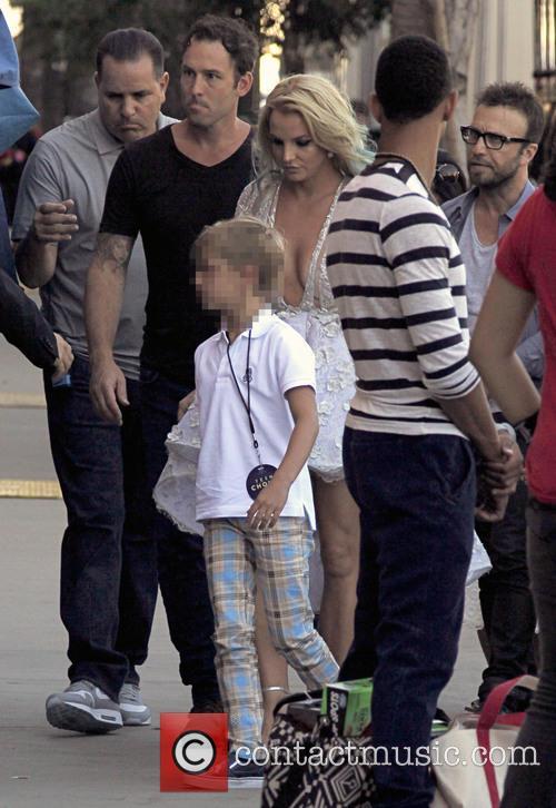 Sean Preston and Britney Spears 1